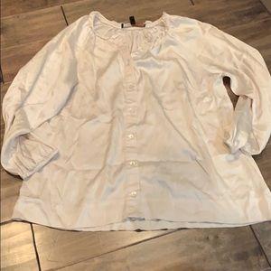 BCBGmaxazria silk shirt